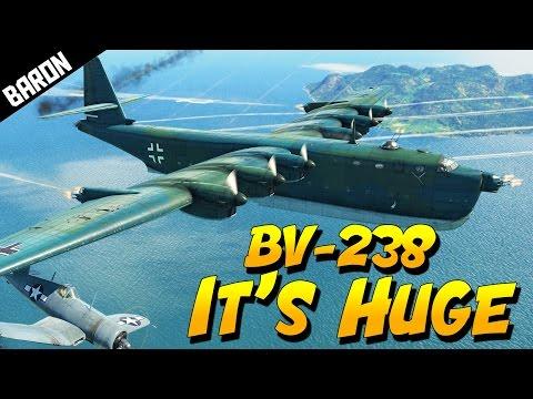 BV-238 NEW Huge Flying Boat, Donald Trump Endorsed - War Thunder 1.63