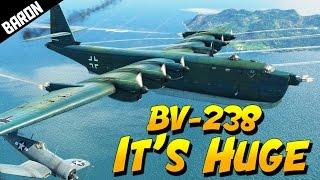 bv 238 new huge flying boat donald trump endorsed war thunder 1 63