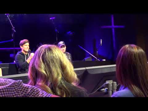 Mariner's church Worship leader discussion with Phil Wickham, Mack Brock, Bryan & Katie Torwalt