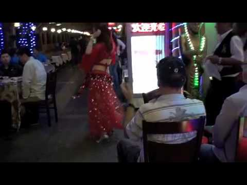 JKHC - CHINA - SHANGHAI - 上海老外街消閒區肚皮舞 FOREIGNERS' STREET - BELLY DANCE - 17/10/10