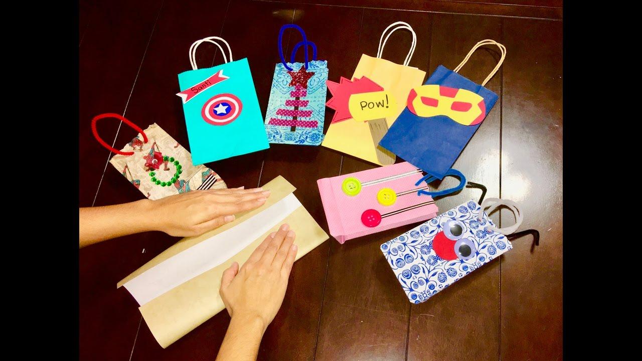 C mo hacer bolsas de papel youtube - Hacer bolsas de papel en casa ...