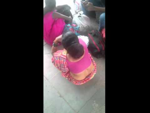 Indian Long hair Big Bun Aunt thumbnail