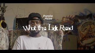 What The Lick Read- Purple Haze