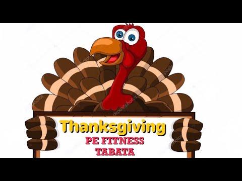 PhysEdZone: Thanksgiving PE Fitness Tabata