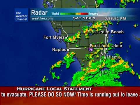 Hurricane Irma closing in on Southern Florida