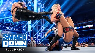 FULL MATCH - Charlotte Flair vs. Rhea Ripley vs. Sasha Banks: SmackDown, Nov. 22, 2019