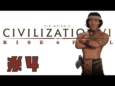 Civilization VI: Rise and Fall! -- MAPUCHE-- Part 4