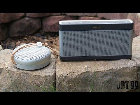 B&O Play A1 vs Bose Soundlink III