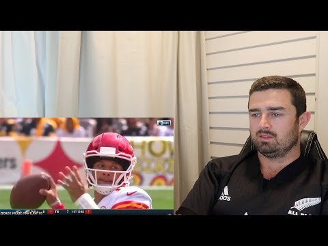 Rugby Fan Reacts to PATRICK MAHOMES 2018 Mid Season Highlights!
