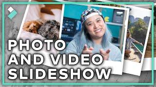 Make the Best Photo and Video Slideshow! | Wondershare Filmora X Tutorial screenshot 4
