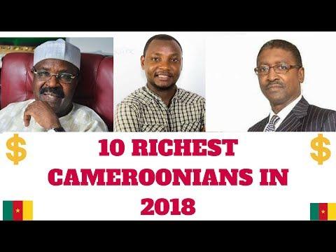 Top 10 RICHEST CAMEROONIANS IN 2018 - LES HOMMES LES PLUS RICHES DU CAMEROUN