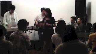2014/08/16 経堂 Leaf Room にて nana 仲間ライブ.