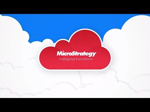 MicroStrategy Cloud雲智能服務