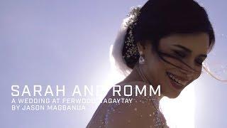 Sarah and Romm: A Wedding at Ferwood, Tagaytay