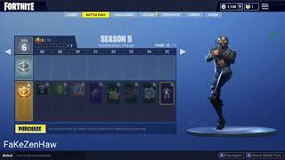 BREAKDOWN EMOTE BASS BOOSTED / Fortnite Battle Royale