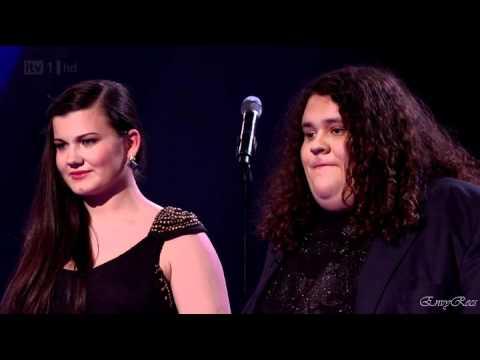 Jonathan & Charlotte - Caruso (Semi Final Britain's Got Talent 2012 Live )