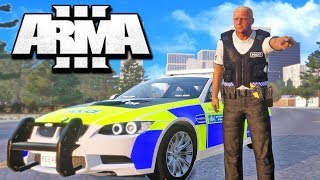ARMA 3 Gameplay featuring ME VS EVERY COPS IN THE SERVER!! ARMA 3 F...