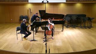 "Or Yissachar - ""Hexagons"" piano trio (Meitar Ensemble)"