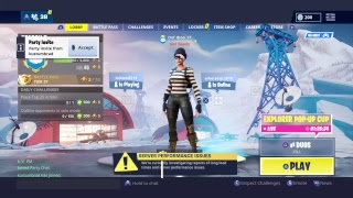 Fortnite ps4 new scuf game play:)