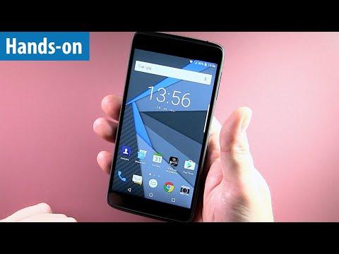 Sicherstes Android-Smartphone? Blackberry DTEK 50 im Hands-on von mobiwatch | Kurz-Test | deutsch