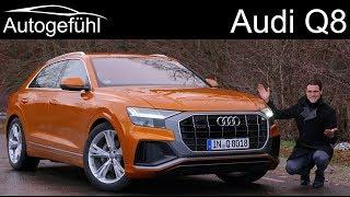 Audi Q8 FULL REVIEW S-Line all-new SUV - Autogefühl