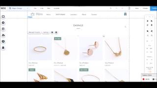 How to create a drop down menu header page wix & home page image buttons