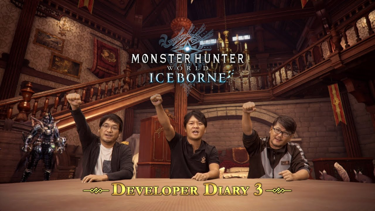 Monster Hunter World: Iceborne - Developer Diary #3 thumbnail