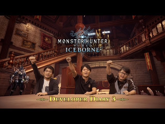 Monster Hunter World: Iceborne - Developer Diary #3