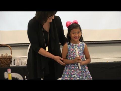 Dillman Elementary Kindergarten Graduation 2017