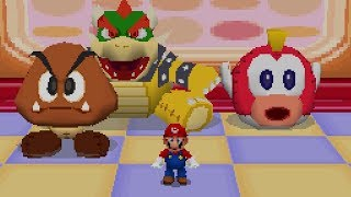 Mario Party DS - All 1 Vs. 3 Minigames