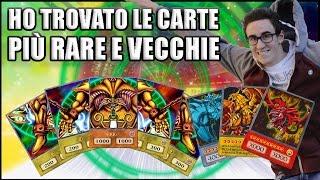 HO TROVATO LE CARTE PIÙ RARE E VECCHIE di Yu-Gi-Oh!