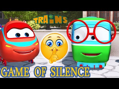 Train and the Monster Machines Full Episodes - GAME OF SILENCE |