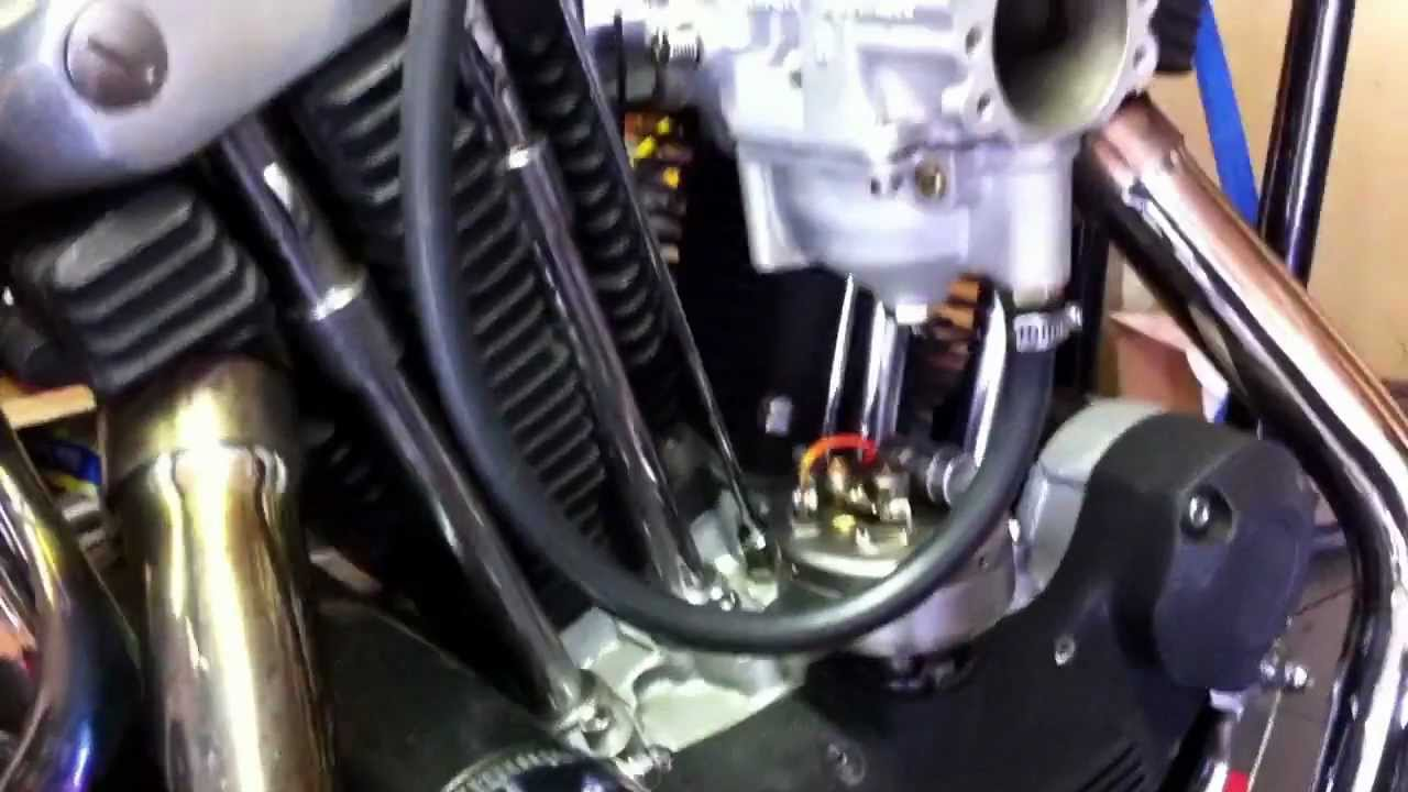 1970 Harley Davidson Ironhead Sportster XLCH with Ballistic Brand 12 cell battery  YouTube