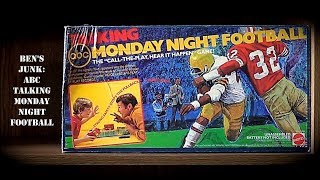 Oddity Archive: Episode 151.1 – Ben's Junk: ABC Talking Monday Night Football (Board Game)