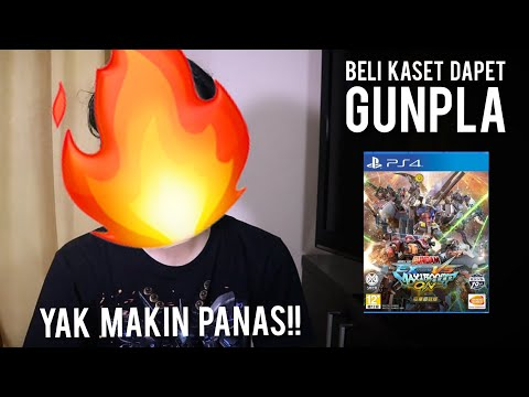 UNBOXING - Mobile Suit Gundam : Extreme Vs. MaxiBoost On (Collector Edition) PS4 - Gundam Indonesia!