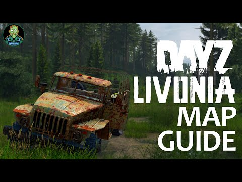 Livonia Loot Routes #1 - DayZ Map Guide For Xbox, PS4, & PC