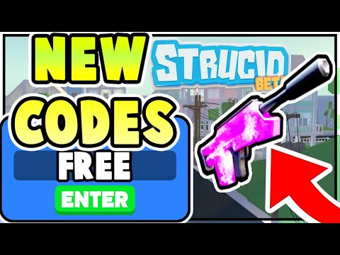 NEW ROBLOX STRUCID CODES! *FREE GUNS AND HATS* All Roblox Strucid Codes 2020