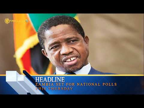 Zambia set for national polls this Thursday