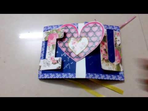 I love you scrapbook (a4 size)