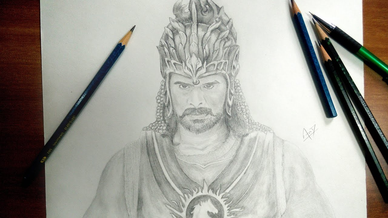 Bahubali 2 speed drawing