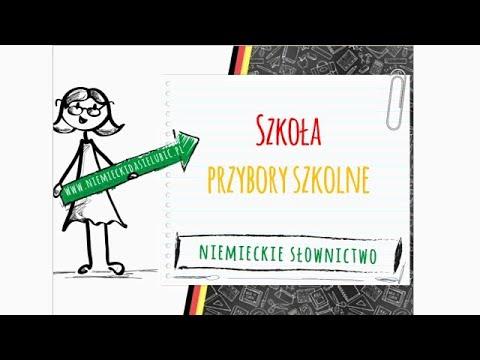e9a76432026a1 Niemieckie słownictwo dla początkujących - szkoła i przybory szkolne ...