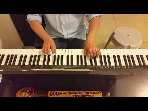 Nоtre Dam De Paris Эсмеральда (за ночь с тобой) - пианино кавер с листа