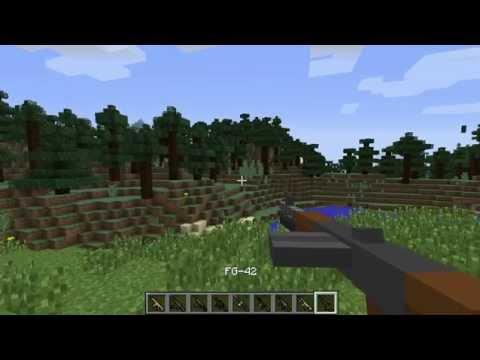 Minecraft Modvorstellung: Flan's Mod AK-47 und co.