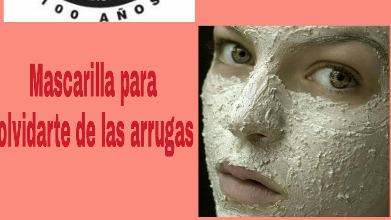 Arrugas Mascarilla De Pomada De La Campana Youtube