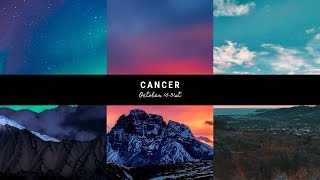 """Cancer- """"The separation was necessary"""" October 15-31st"""