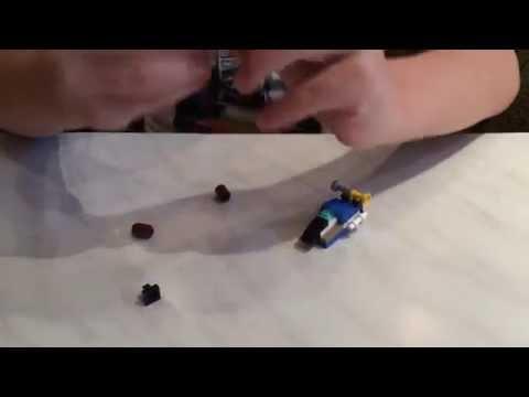 Сделать самолёт-трансформер из Лего
