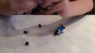 Сделать самолёт-трансформер из Лего(Хотите сделать самолёт-трансформер из Лего?! Нет ничего проще, менее чем за 2 минуты у вас будет трансформер...., 2016-06-13T16:06:13.000Z)