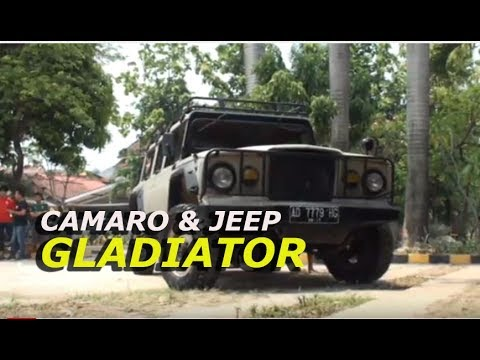 Camaro dan Jeep Gladiator