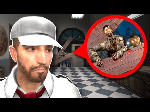 ZOMBIES ARE BREAKING IN! - Garry's Mod Gameplay - Gmod Zombie survival roleplay