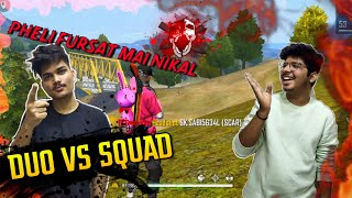 FREE FIRE RANK MATCH || 2 VS 49  Duo Vs Squad Match 18 Kills || Two Side Gamers